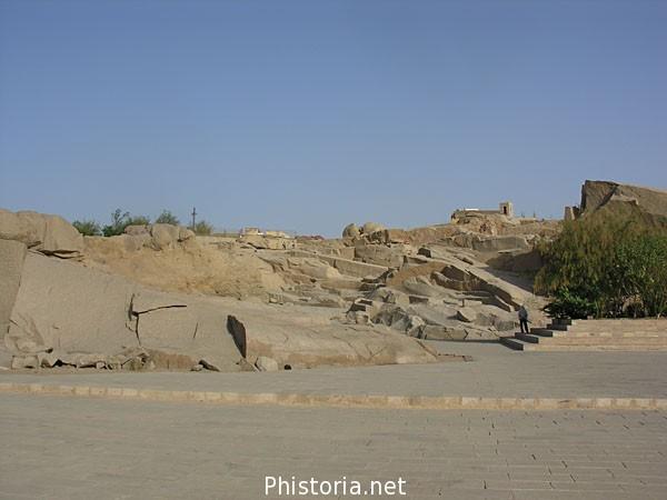 Matrimonio Romano El Rincon Del Vago : Vista general de la cantera aswan egipto