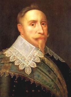 Retrato del rey Gustavo II Adolfo